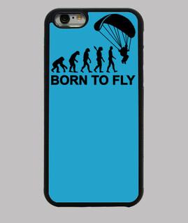geboren evolution skydiving zu fliegen