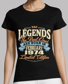 Geboren im Februar 1974