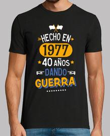 Geboren im Jahr 1977, seit dem 40 Jahre Krieg!