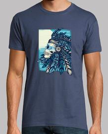 gebürtiges totenkopf t-shirt