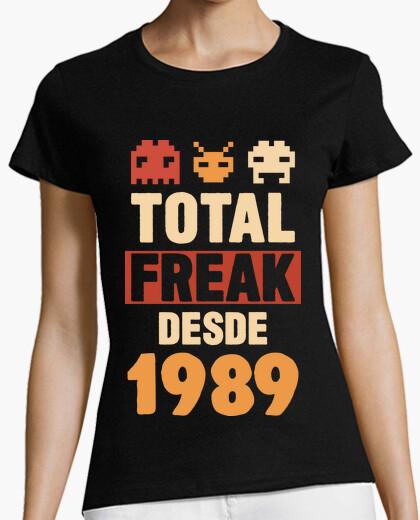 T-shirt geek totale dal 1989