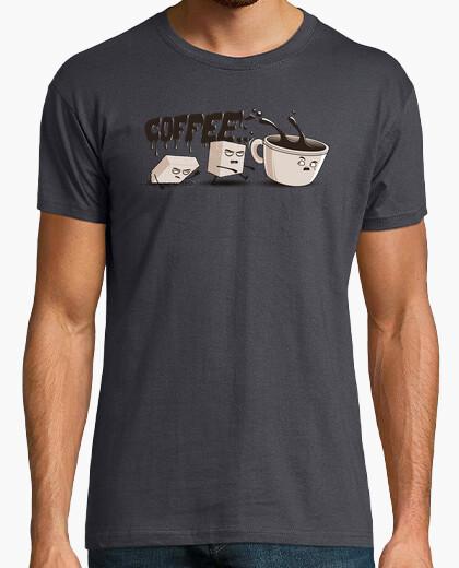 T-Shirt gehen kaffee