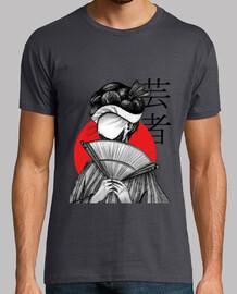 geisha - horror 2 (hand drawing)