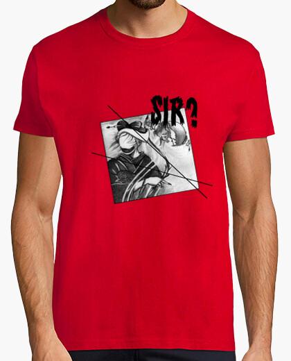 Geisha - horror (hand drawing) t-shirt