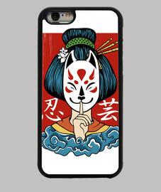 geisha kitsune più k spirit ragazza jap