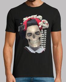 geisha skull / catrina / calaca / meiko