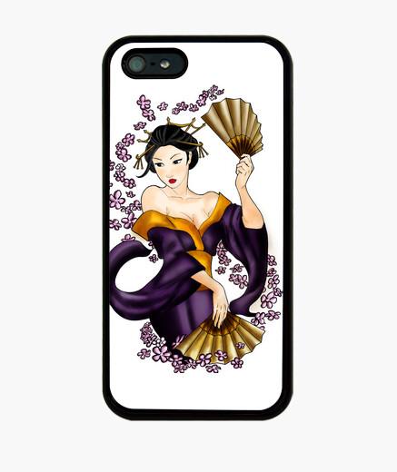 Coque iPhone geisha téléphone