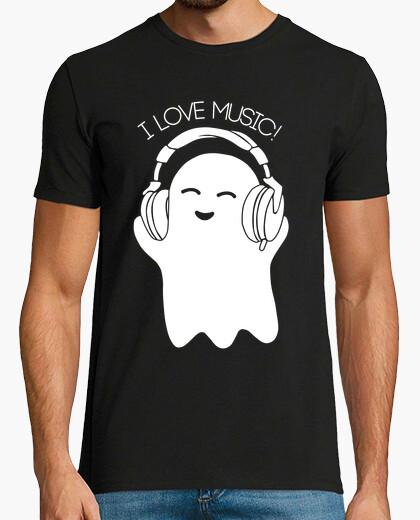 T-Shirt Geister lieben Musik