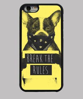gelber hund rebell