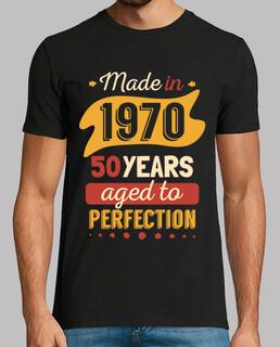 gemacht in 1970 50 jahren bis zur perfektion im alter von
