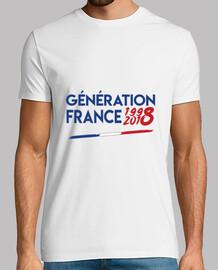 Génération France 1998 2018
