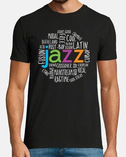 generi cool jazz t-shirt