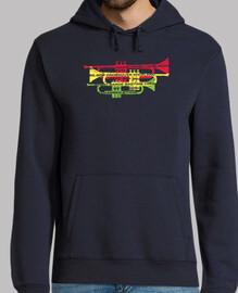 géneros de jazz con trompetas camiseta
