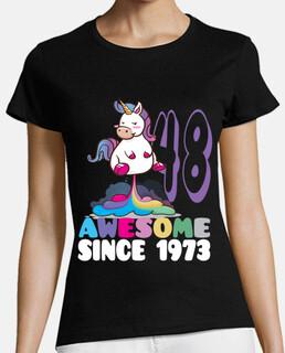 génial depuis 1973 48e anniversaire