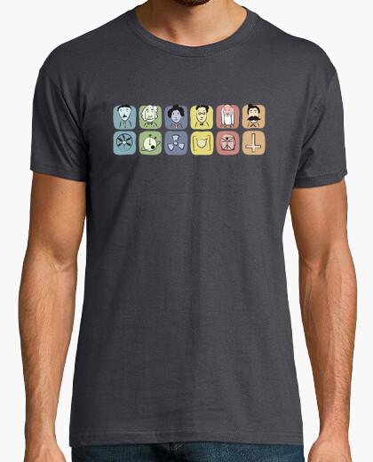 Camiseta Genios