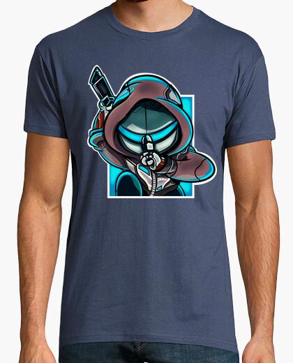 Camiseta Genji azul