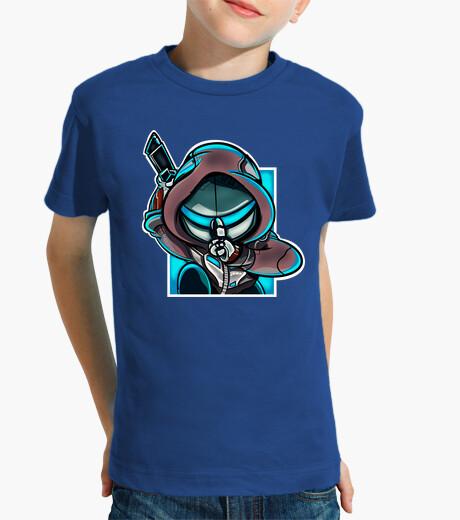 Ropa infantil Genji azul