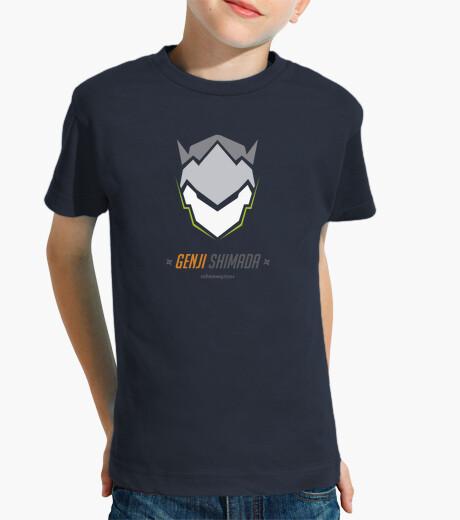 Genji shirt shimada kids clothes