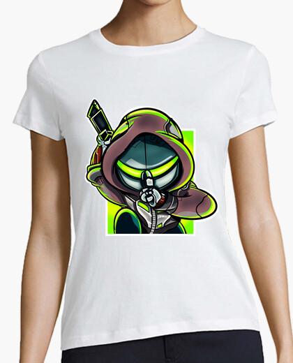 Camiseta Genji verde