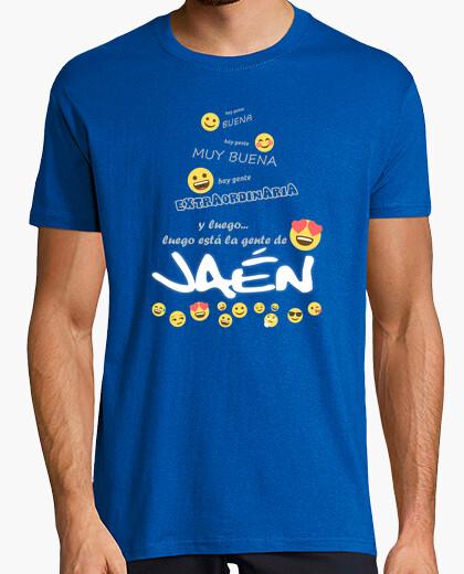 Camiseta Gente de Jaén Emoji for dark CS1