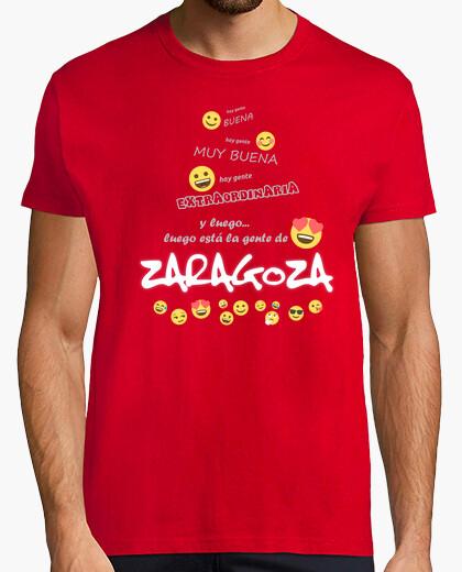 Camiseta Gente de Zaragoza Emoji for dark CS