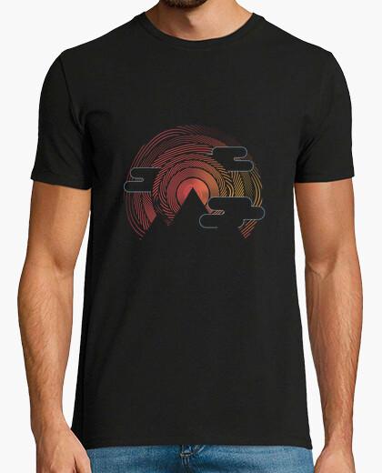 Tee-shirt Geometric mountain