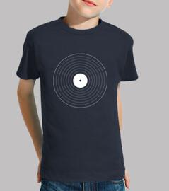 geometric vinyl record
