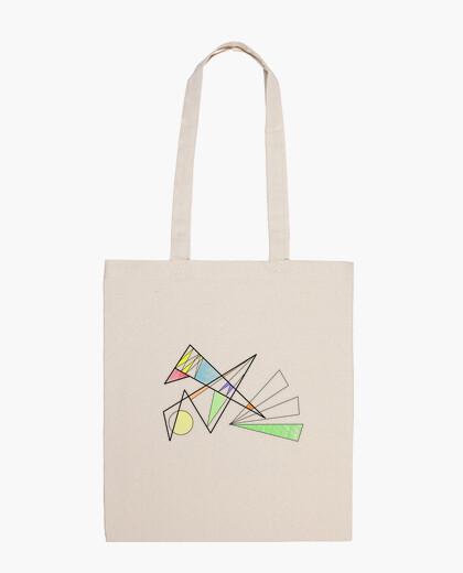 Bolsa Geométrico a lápiz