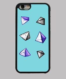 geometrisches Aquarellpyramidenmuster