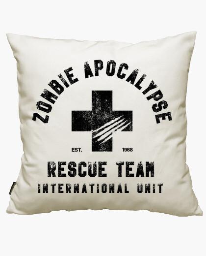Funda cojín George A. Romero - Zombie Rescue Team