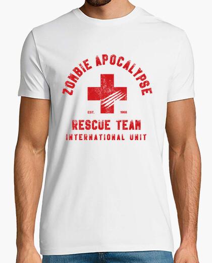 Camiseta George A. Romero - Zombie Rescue Team