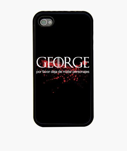 Coque iPhone george martin jeu des trônes