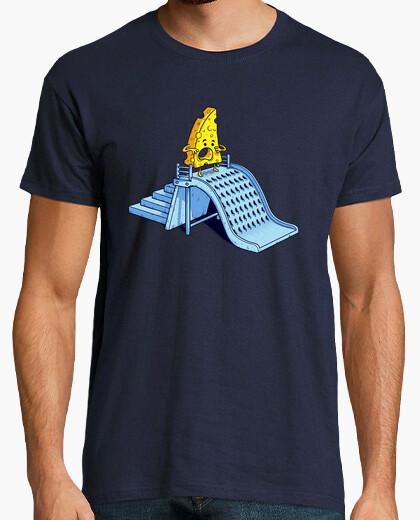 T-Shirt geriebener käse