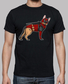 german shepherd deadpool