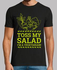 getta la mia insalata sono vegetariana!
