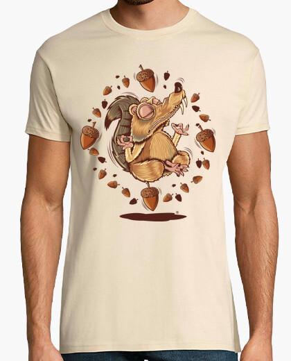 T-shirt ghianda yoga