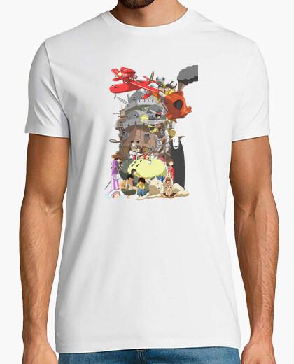 Camiseta Ghibli chico