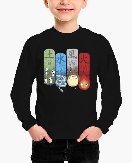 Ropa infantil Ghibli Elemental Charms