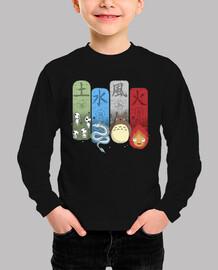 Ghibli Elemental Charms