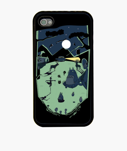 Ghibli forest funda iphone n 386088 fundas iphone latostadora - Personalizar funda iphone ...