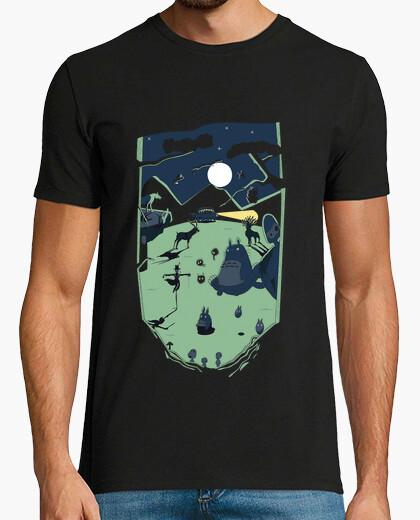 Ghibli forest- man t-shirt