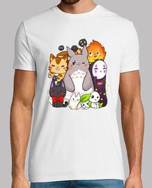 ghibli friends - totoro and his friends