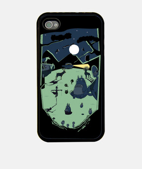Ghibli la forêt la gaine iphone