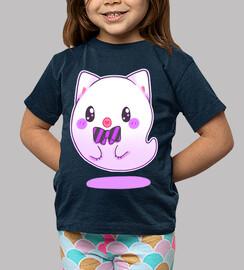 ghost cat kawaii