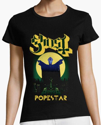 Camiseta Ghost Popestar (Square Hammer)