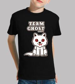 ghost team. shirt child