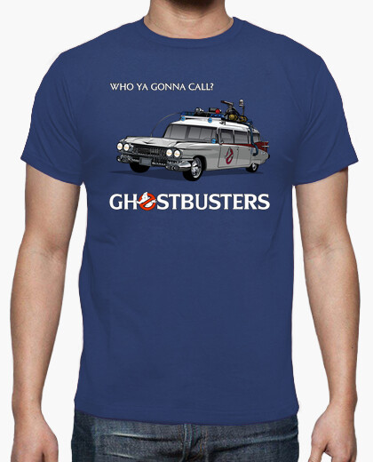 Ghostbusters Car T-shirt for Men or Women