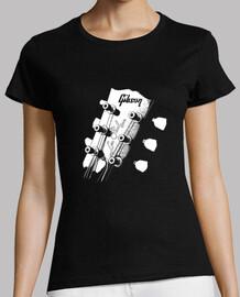 gibson les paul head - guitar - rock an