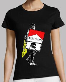 gilet jaunes-giallo gilet-macron-parigi francia