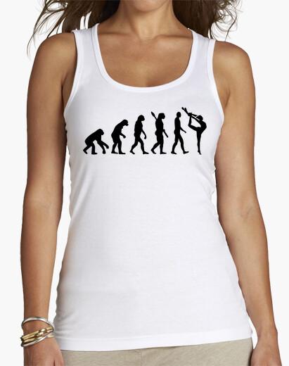 Camiseta gimnasia evolución